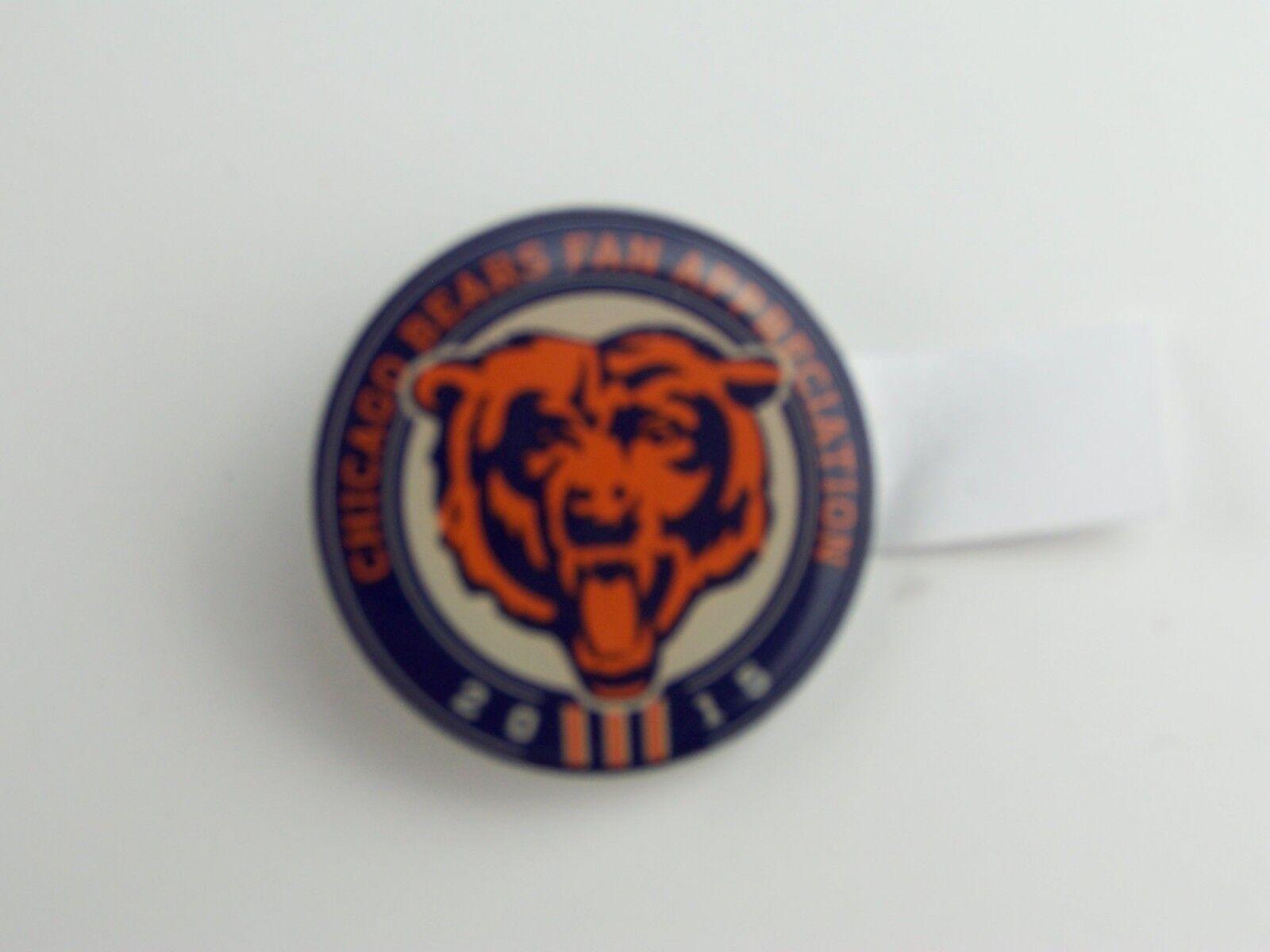 2015 Chicago Bears Fan Appreciation Pin