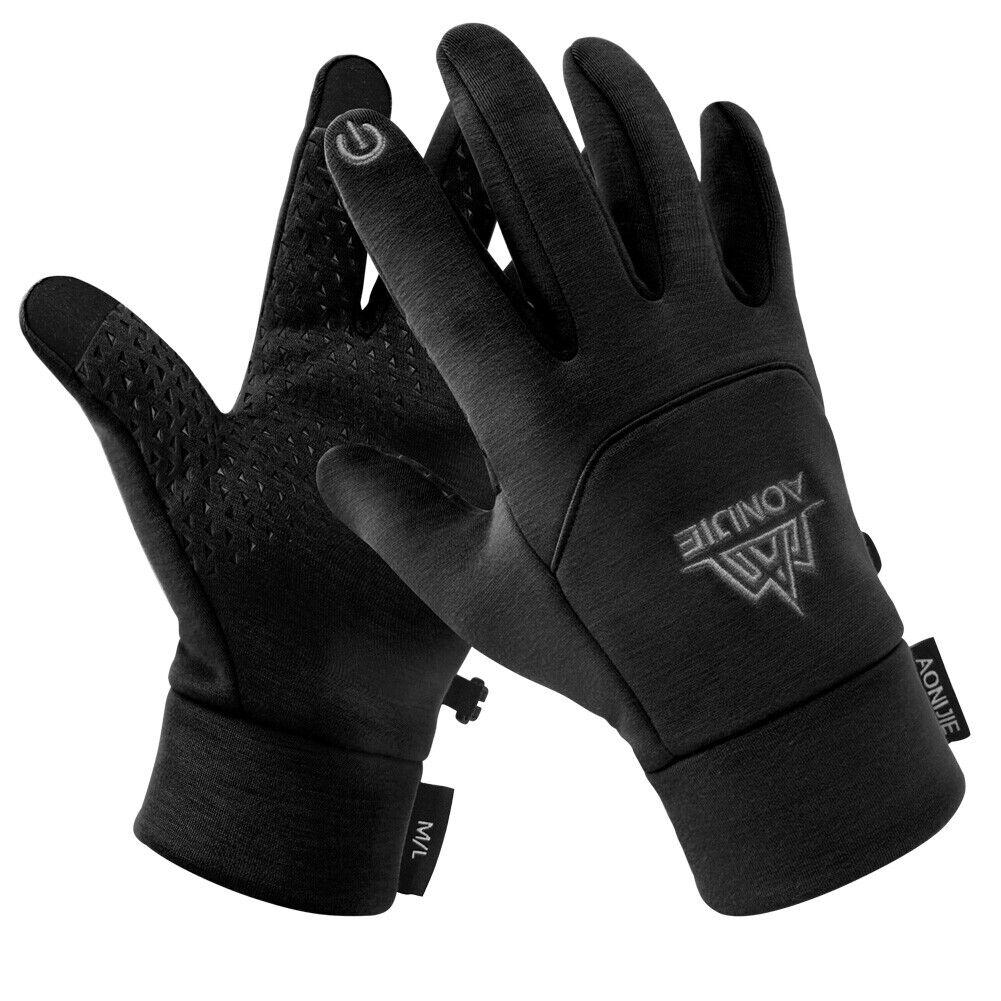 Winter Fleece Gloves Touchscreen Thermal Soft Fleece Gloves Mittens f/ Men Women