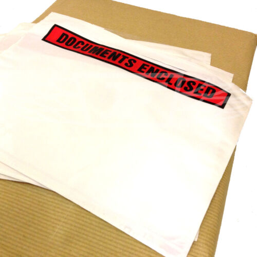 PACCHI POSTALI WALLET 225mm x 125mm Documento racchiusa BUSTE STAMPATE DL