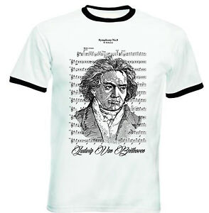 BEETHOVEN-NEW-BLACK-RINGER-COTTON-TSHIRT