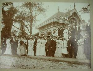 Photographie D'un Mariage Breton à Vannes Vers 1900 Cardinal Gaston (1858-?!