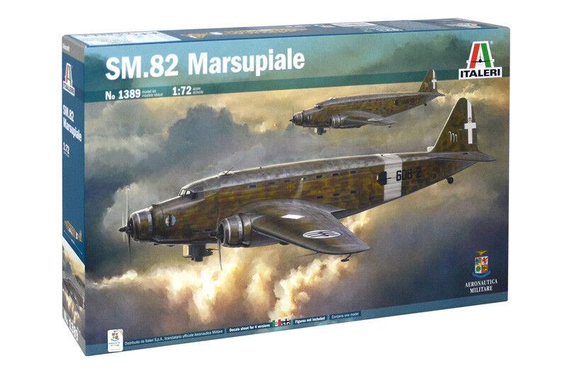 SM.82 MARSUPIALE Italeri Kit 1 72 IT1389