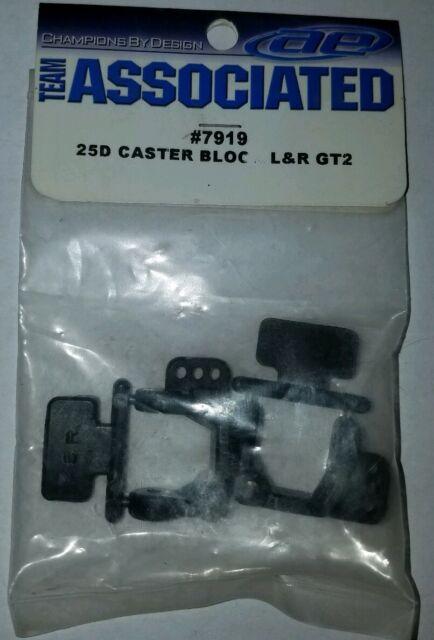 RC10B4 Left Right RC TEAM Associated 9581 Steering Block 2 SC10 RC10T4 // GT