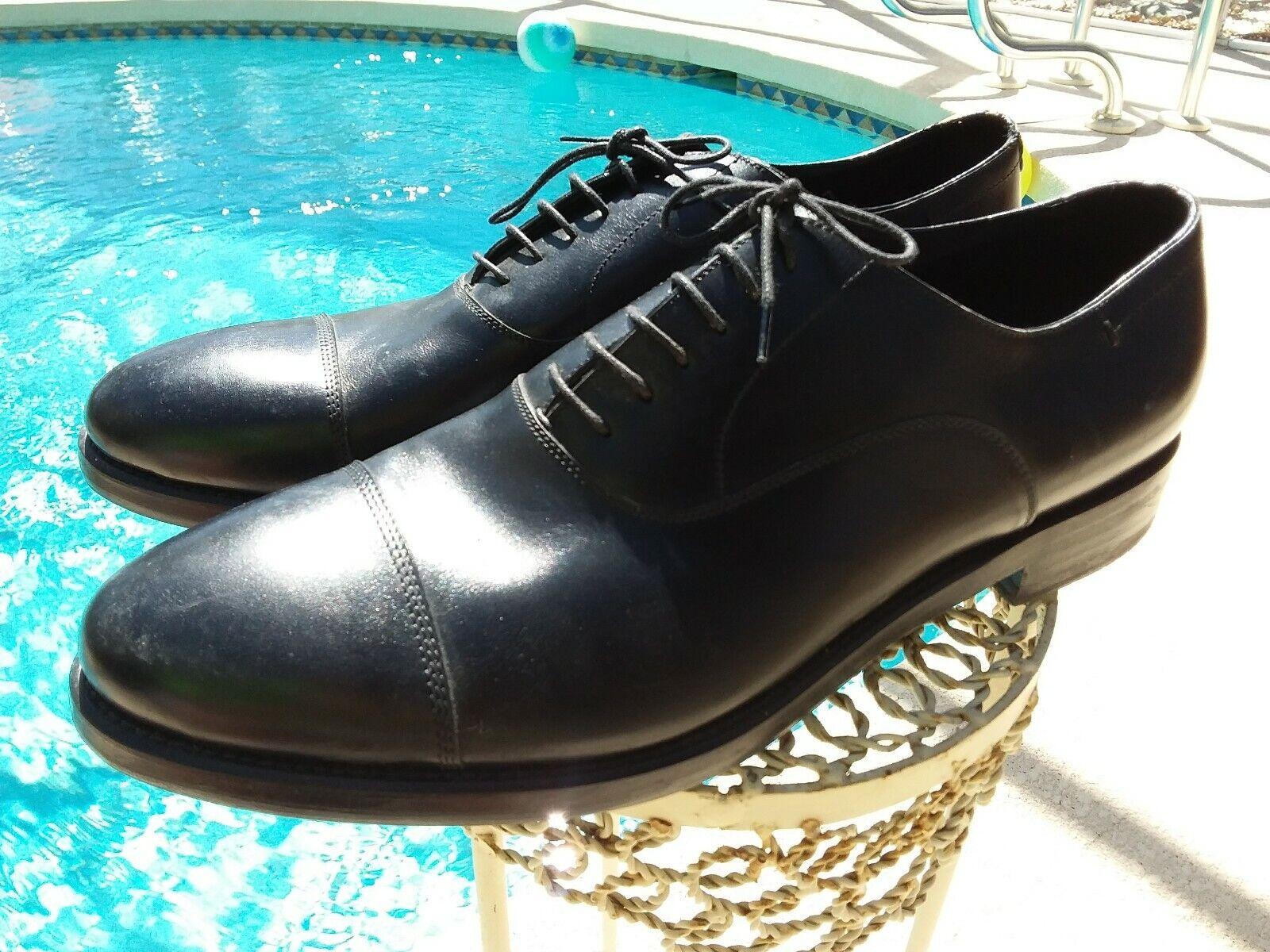 design semplice e generoso J. Wilton nero Cap Toe Leather Dress Oxford    Made In . USA Dimensione 11. Eu 45  distribuzione globale