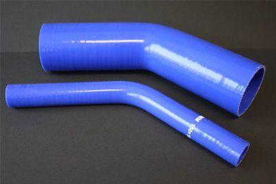 100% Wahr 45° Silikonbogen, 45 Grad Turbo- Kühler- Ladeluft- Silikon Schlauch Alle Größen Hoher Standard In QualitäT Und Hygiene