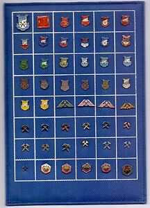 48-pins-pin-badge-ansteckandel-MINE-MINERS-MINING-PINS-ON-TABLE-YUGOSLAVIA