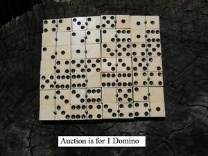 Old-Rare-Vintage-Antique-Civil-War-Relic-Domino-Game-Piece-Extremely-Rare
