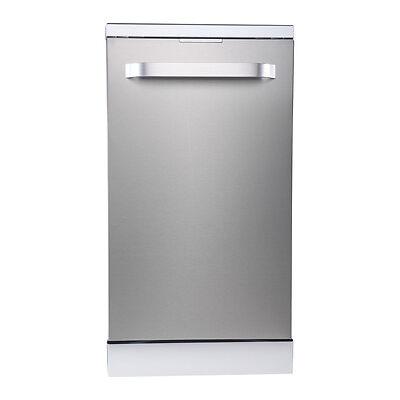 KENWOOD KDW45X16 Slimline Dishwasher - Stainless Steel