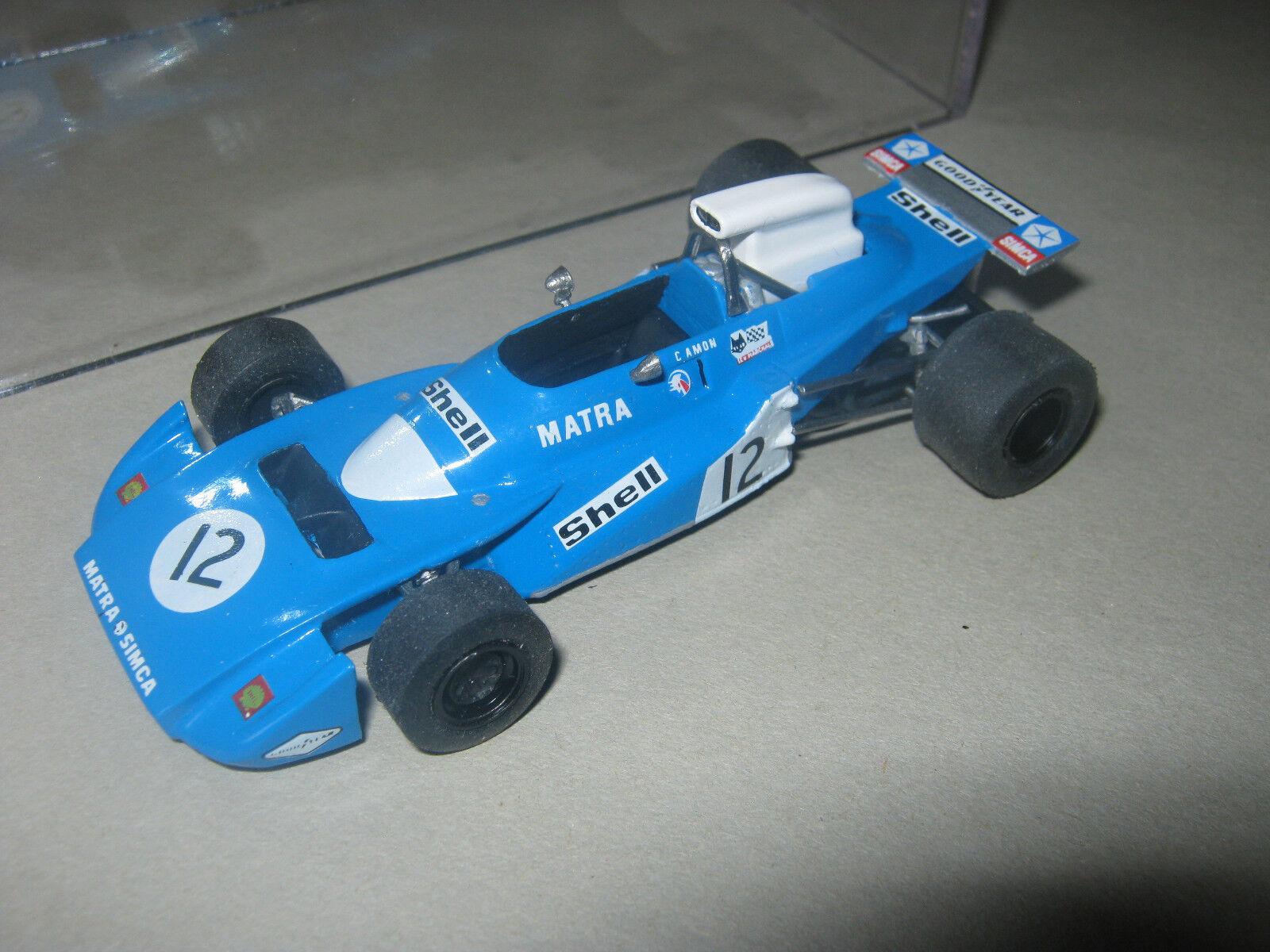 1 43 Matra v12 ms120b C. Amon 1971 Monza GP TENARIV HANDBUILT MODELCAR