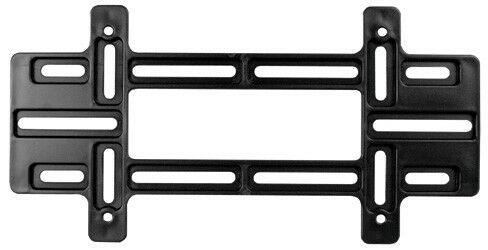 Universal Black Plastic License Plate Tag Mounting Bracket for Auto-Car-Truck