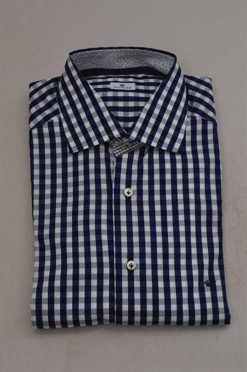 Sonrisa  -  Shirts - male - Blau - 216726A180842