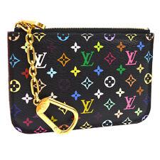 Louis Vuitton Pochette Cle Monogram Multicolor M93735 Coin Purse Woman #3637p
