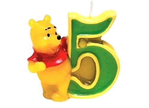 Nr.0ke5d Geburtstag Zahlenkerze Nr 5 Geburtstagskerze