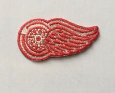 """Detroit Red Wings Logo Patch Iron On Sew On 2""""x 1"""""""" Inch"""