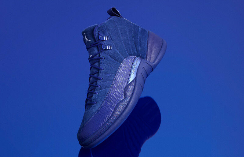 Nike Air Jordan 12 XII Royal Blue size 11. Suede Premium. 130690-400. Special limited time