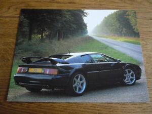 Responsible Lotus Esprit Post Card Brochure Sales Literature Lotus
