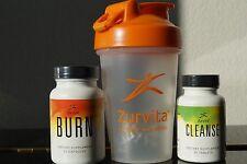 Zeal for Life Cleanse Detox & Fat Burner Plus Shake Bottle.Exp 1/18 Free Ship