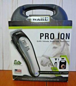 Wahl-PRO-ION-Rechargeable-Lithium-Ion-9705-Clipper-READ-AD-XM26