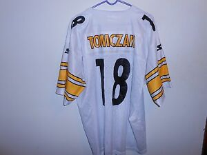 7a4610437 Image is loading Vintage-Authentic-Mike-Tomzak-Pittsburgh-Steelers-Starter -Jersey-