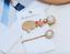étoile de mer /& Cristal Clips Cheveux Royaume-Uni vendeur NEUF Lot de 2 Gold Tone Shell Cols 3