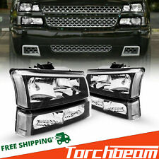 Headlightslamp Assembly For 2003 2006 Chevy Silverado Chorme Housing Clear Side Fits More Than One Vehicle