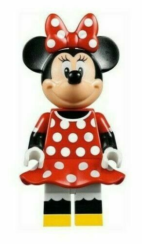 LEGO DISNEY MINNIE MOUSE MINIFIGURE 71040 NEW  minifigure mini fig
