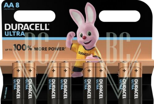Duracell Ultra Batterie AA Mignon LR6 MX1500 8er Pack