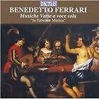 Benedetto Ferrari - : Musiche Varie a voce sola (2006)