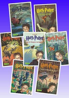 Harry Potter Gesamtausgabe Band 1 2 3 4 5 6 7 Komplett Von Joanne K Rowling Ebay