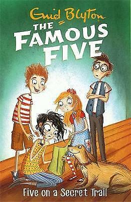 Five On A Secret Trail: Book 15 (Famous Five) by Blyton, Enid, NEW Book, FREE &