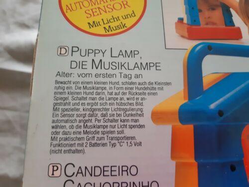 Hündchen Lampe Chicco Kleinkinder-Spielzeug Puppy Lamp Nachtlicht /& Musik