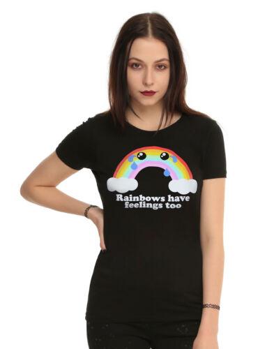 Rainbows Have Feelings Too Girls T-Shirt