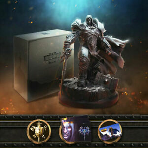 Warcraft Iii Reforged Collector Edition Arthas Statue Gift Box