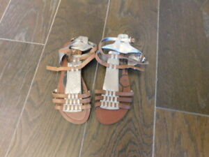 Dolce-Vita-Size-7-5-Strappy-Leather-Gladiator-Style-Sandals