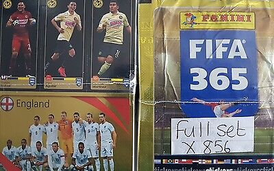 FIFA 365 2016 FULL SET OF STICKERS X856