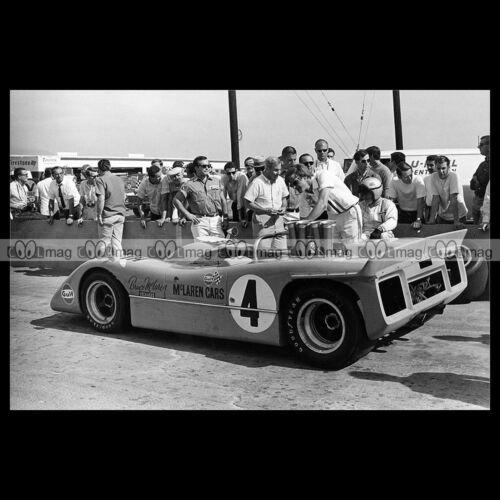 #pha.019145 Photo BRUCE MCLAREN M8A CAN-AM 1968 Car Auto