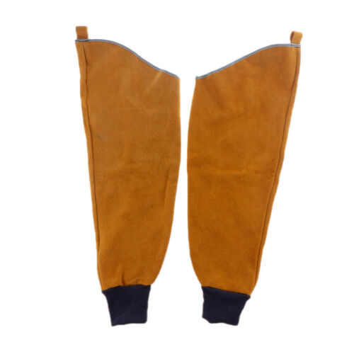 Heavy Duty Cowhide Leather Welding Sleeves Protective Sleeves For Arms