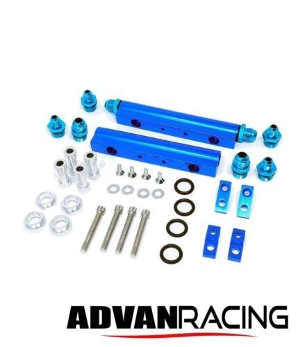 Rev9 FR-015 Aluminum Top Feed Fuel Injector Rail Kit For WRX EJ20 EJ25 Motor