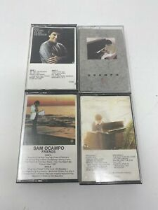Sam Ocampo~Gently~RARE Christian Gospel~Classical~Easy Listening-CASSETTES LOT