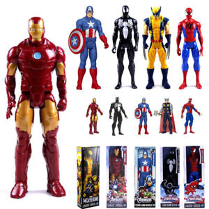 12-034-Action-Figure-X-man-Spider-Man-Iron-Man-Thor-Collectable-Toys