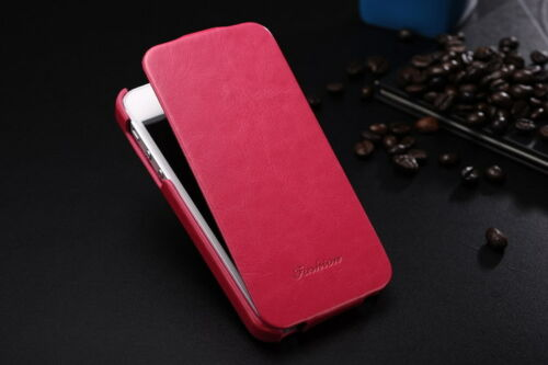 Genuine Leather Case Original Faddist Ultrathin Crazy Horse Cover for Iphone 5 G