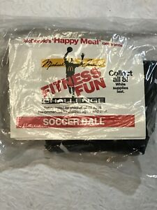Michael Jordan Mcdonald S Fitness Fun Challenge Soccer Ball Happy Meal Toy Ebay