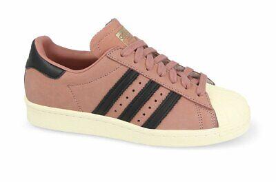 Adidas Superstar 80 S W Rose Taille 9.5 RRP £ 85 Entièrement neuf dans sa boîte CQ2513 RARE eBay eBay