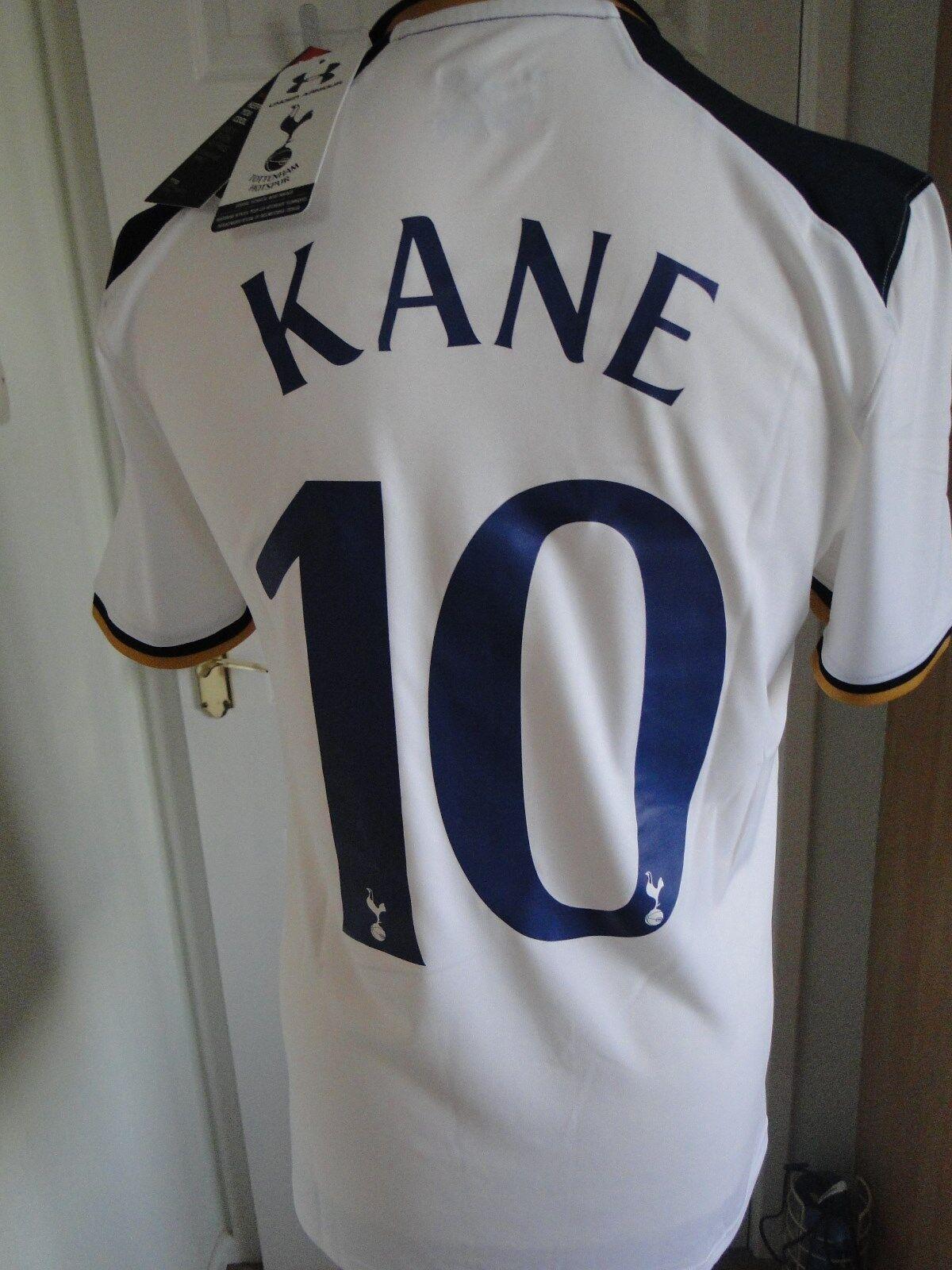 Tottenham Home Cup Shirt  Kane  201617 NUOVO con etichetta taglia media