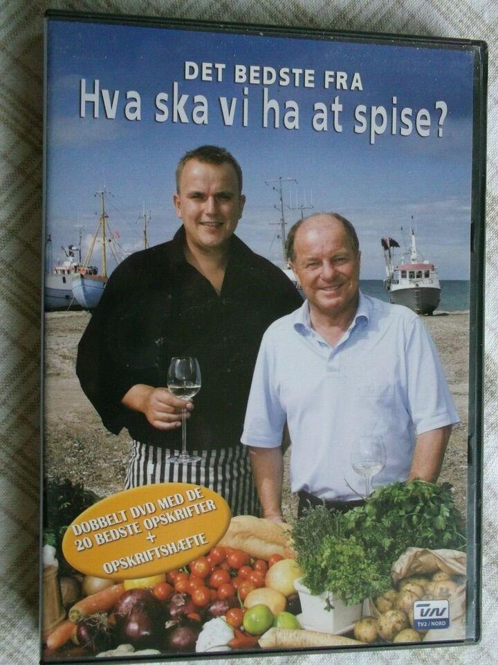 Hvad Skal Vi Ha At Spise? Dobbelt DVD, instruktør TV2 Nord,