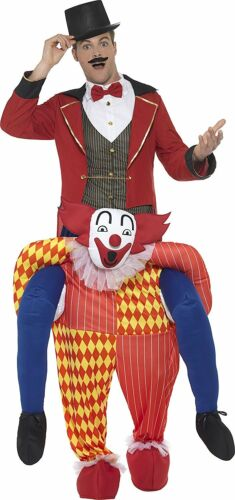 Yellow Smiffy/'s 47159 Piggyback Clown Costume One Size