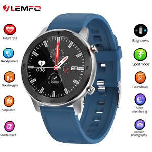 2020-Lemfo-DT78-reloj-inteligente-Podometro-Ritmo-cardiaco-Deportive-Android-IOS