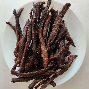 98% Lean  -_- PRIME Smoked Beef Jerky - Original Applewood Smoked ——— FRESH-CUT