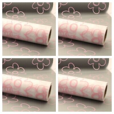 Duck Egg Blue Frosted Cellophane Gift Wrapping 80 cm wide 1-50 meters Length