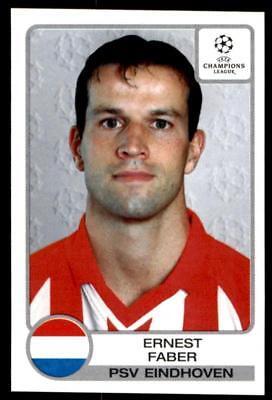 Panini Liga de Campeones 2001-2002 Eric Addo PSV Eindhoven no 103